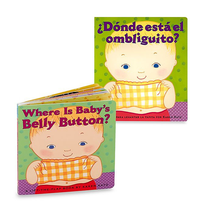 Alternate image 1 for Where's Belly Button? Book (English and Spanish Versions)