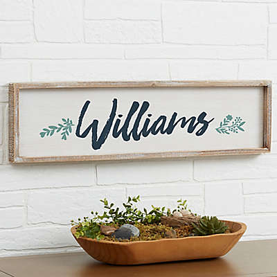Cozy Home Long Barnwood Frame Wall Art