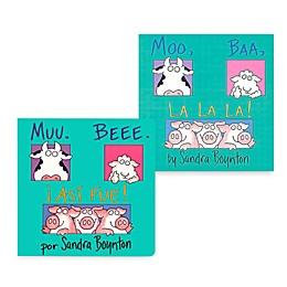 Moo Baa LaLa Book (English and Spanish Versions)