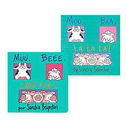 Moo Baa LaLa Book (English and Spanish Versions)
