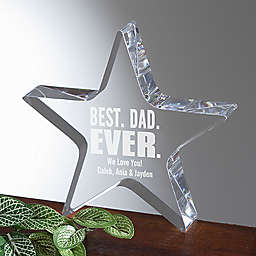 Best Dad Ever Keepsake Award