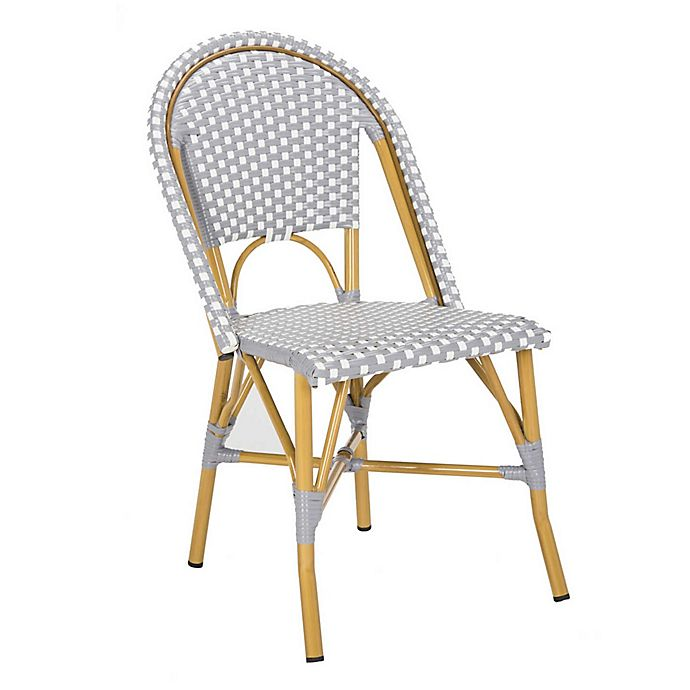 Pleasing Safavieh Salcha Indoor Outdoor French Bistro Stacking Side Unemploymentrelief Wooden Chair Designs For Living Room Unemploymentrelieforg