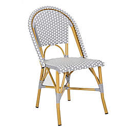 Safavieh Salcha Indoor-Outdoor French Bistro Stacking Side Chair (Set of 2)
