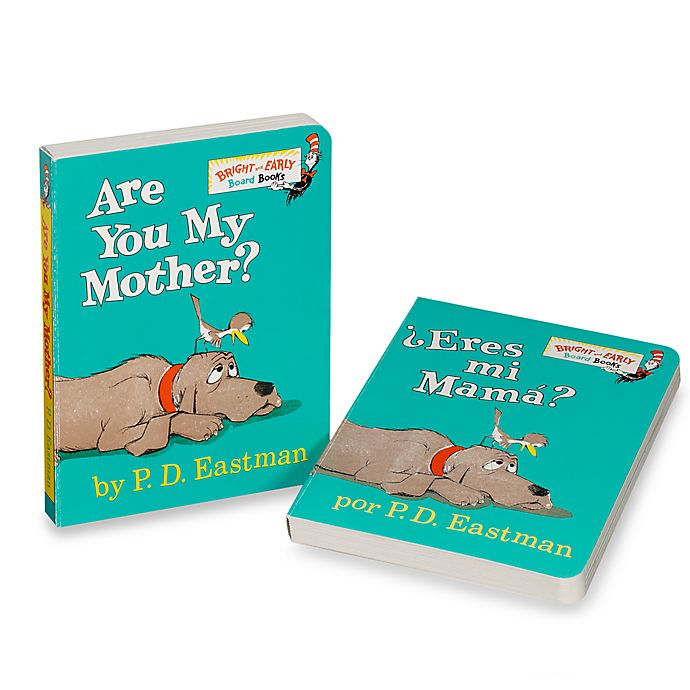 Alternate image 1 for Dr. Seuss' Are You My Mother? Board Book (English and Spanish Translation)