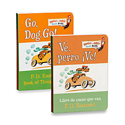 Dr. Seuss' Go, Dog, Go! Board Book (English and Spanish Versions)