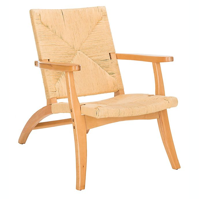 Alternate image 1 for Safavieh Bronn Accent Chair in Natural
