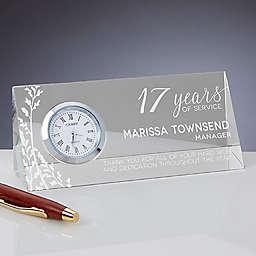 Retirement Triangle Side Clock