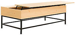 Safavieh Gina Contemporary Lift-Top Coffee Table in Oak