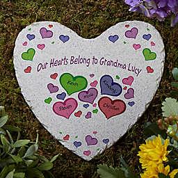 My Heart Belongs To Heart Garden Stone