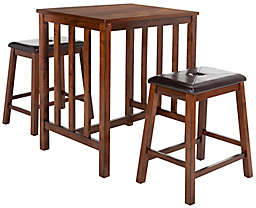 Safavieh Ilana 3-Piece Pub Set in Chestnut