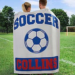 15 Sports 50-Inch x 60-Inch Sweatshirt Throw Blanket