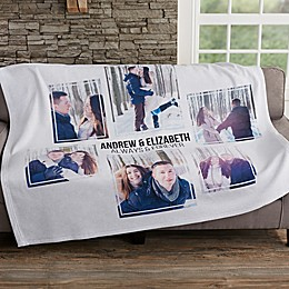 Photo Collage Personalized Sweatshirt Blanket