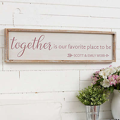 Together...Personalized