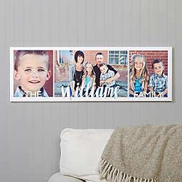 Family Photos Canvas Print