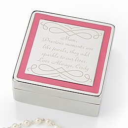 Enchanting Mother Engraved Jewelry Box