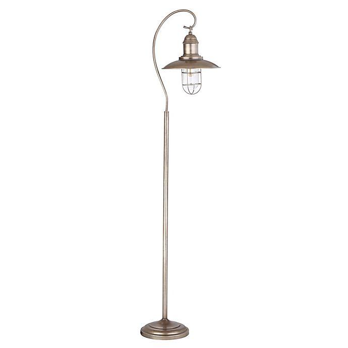 Safavieh Romelo Floor Lamp In Silver Grey Bed Bath Amp Beyond