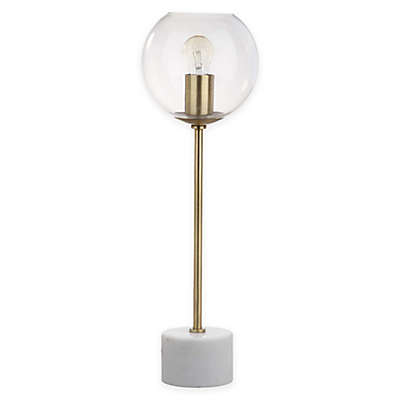Safavieh Caden 1-Light Table Lamp in Brass