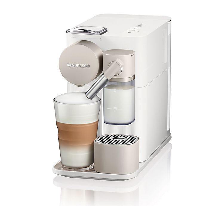 Alternate image 1 for Nespresso® by De'Longhi Lattissima One Espresso Maker in Silky White