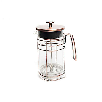 Brooklyn Steel Deco Coffee Press in Brass