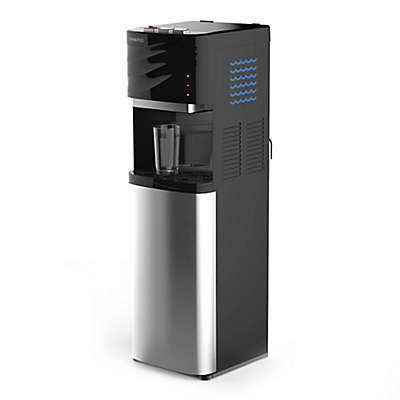 Drinkpod® 19000 Bottleless Water Cooler Water Dispenser in Black with 4 Filters