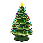 Mr. Christmas Inc&reg: 14-Inch Nostalgia Painted Porcelain Christmas Tree