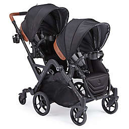 Contours® Curve Double Stroller in Jet Black