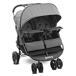 Joovy® ScooterX2 Double Stroller with Trays in Grey