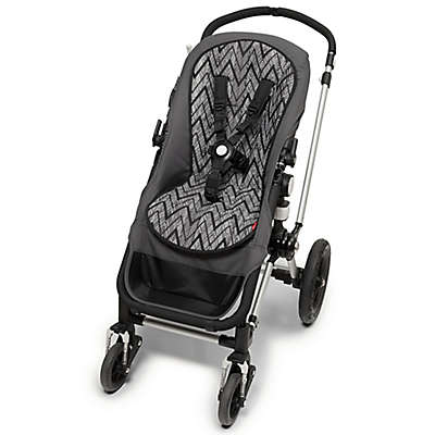 SKIP*HOP® Stroll & Go Cool Touch Zebra Stroller Liner in Black