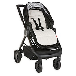Diono® Everyday Comfort Liner Stroller Pad in White/Grey