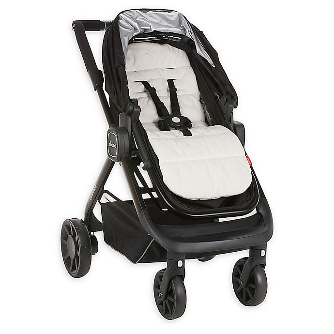 Alternate image 1 for Diono® Everyday Comfort Liner Stroller Pad in White/Grey