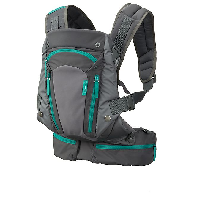 Infantino Carry On Multi Pocket Carrier In Grey Bed Bath Beyond