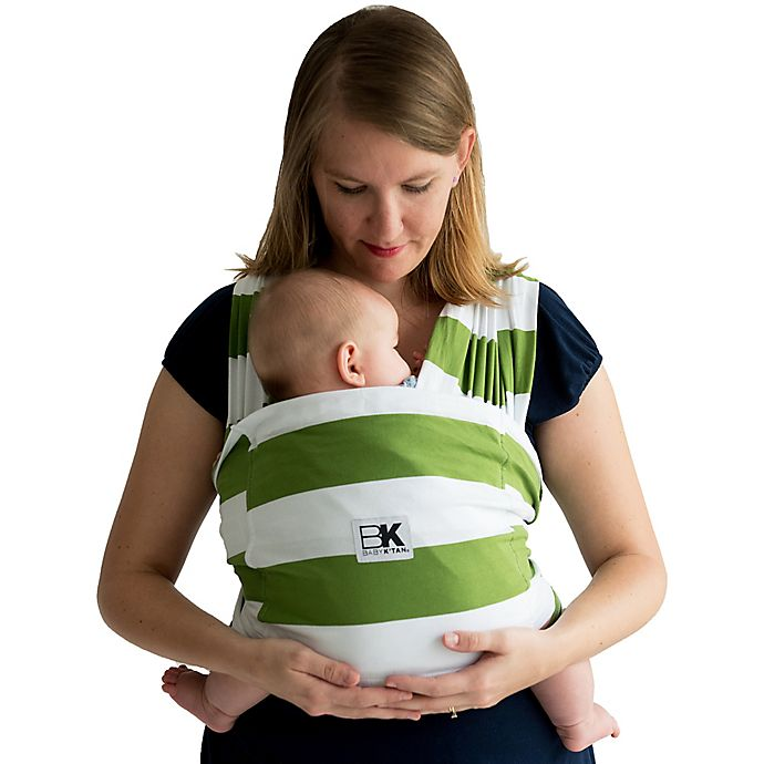Alternate image 1 for Baby K'tan® Original Baby Wrap Carrier in Stripe