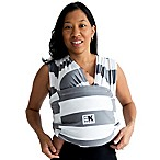 Baby K'tan® Print Small Striped Baby Carrier in Grey/White