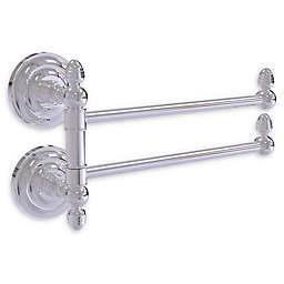Allied Brass Que New Collection 2 Swing Arm Towel Rail