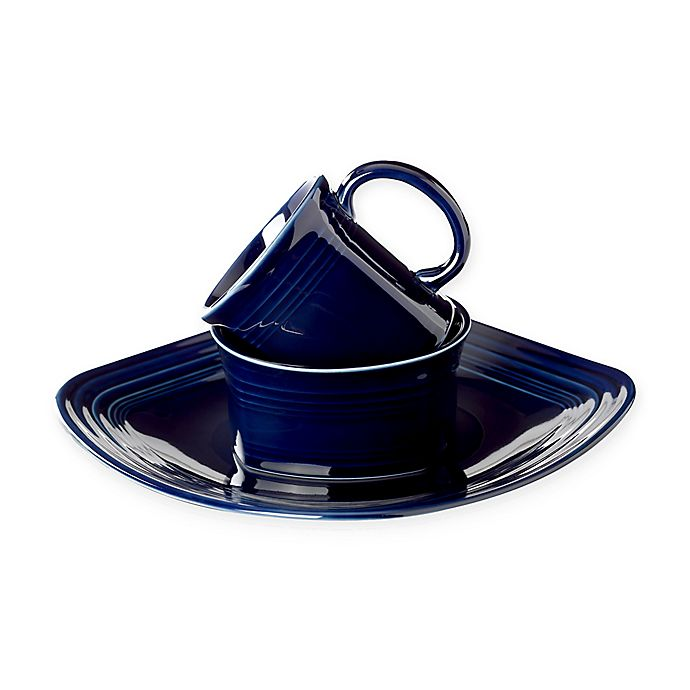 Alternate image 1 for Fiesta® Square Dinnerware Collection in Cobalt Blue