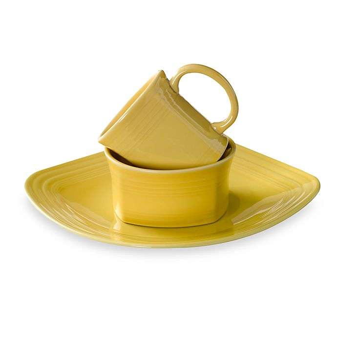 Alternate image 1 for Fiesta® Square Dinnerware Collection in Sunflower