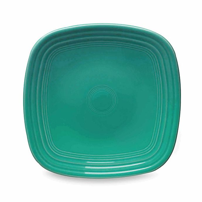 Alternate image 1 for Fiesta® Square Luncheon Plate in Turquoise