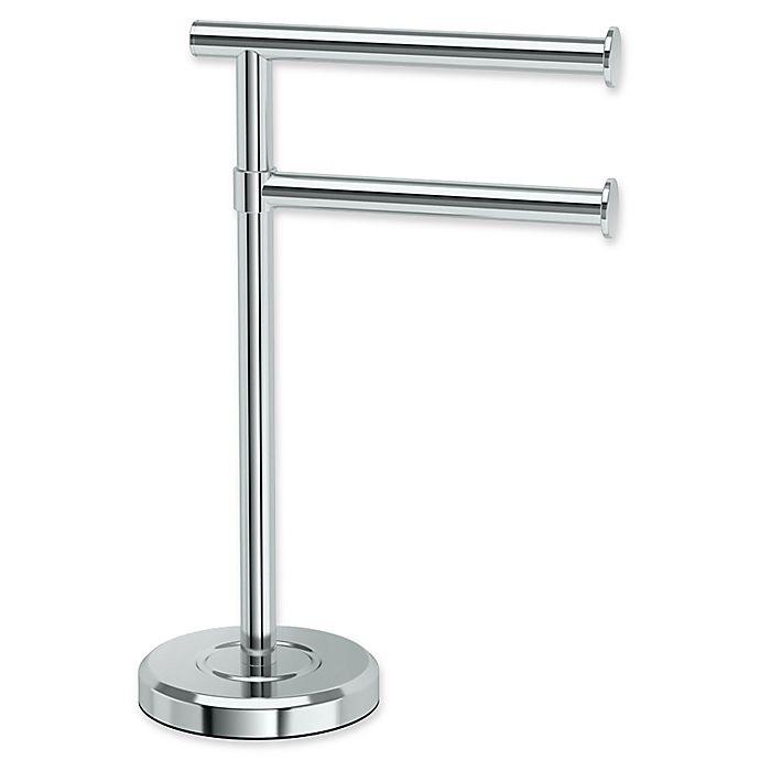 Tier Countertop Towel Holder, Bathroom Countertop Towel Stand