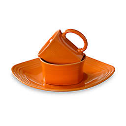 Fiesta® Square Dinnerware Collection in Tangerine