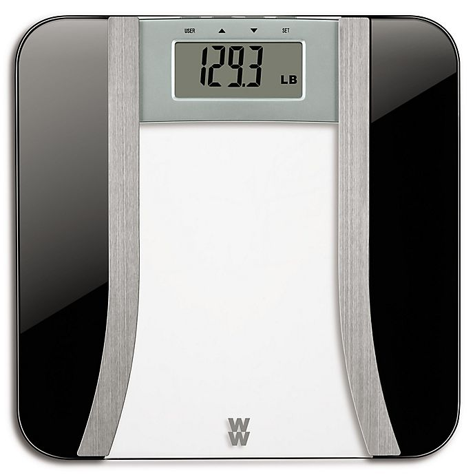 Alternate image 1 for Weight Watchers® by Conair™ Body Analysis Digital Bathroom Scale