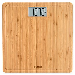 Homedics® Digital Bath Scale in Natural Bamboo