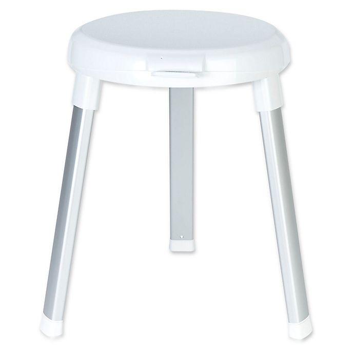 Alternate image 1 for Better Living SWIVEL 360 Shower Seat in White