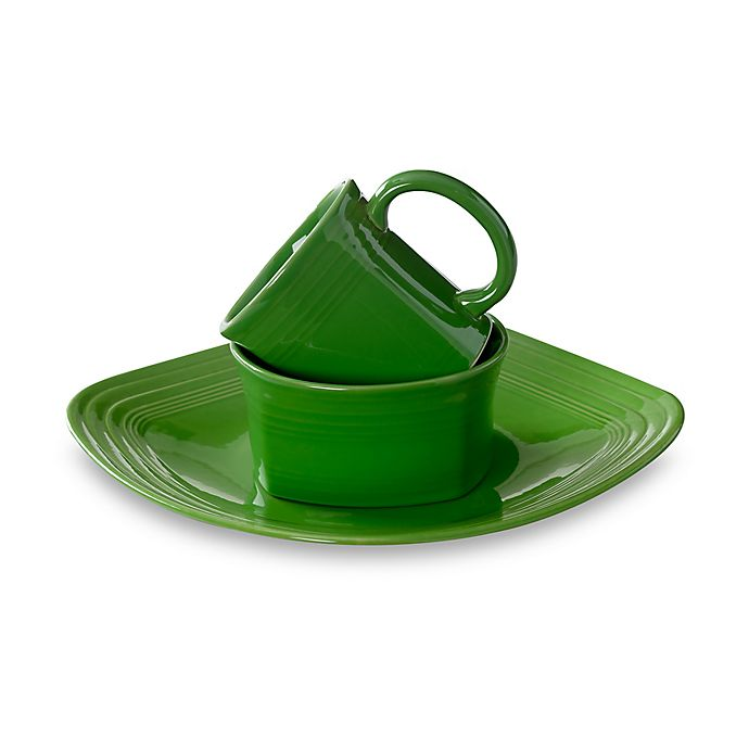 Alternate image 1 for Fiesta® Square Dinnerware Collection in Shamrock