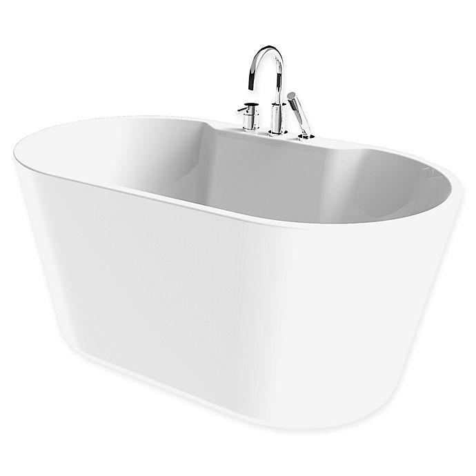 A&E Bath And Shower Retro 56-Inch X 32-Inch Acrylic
