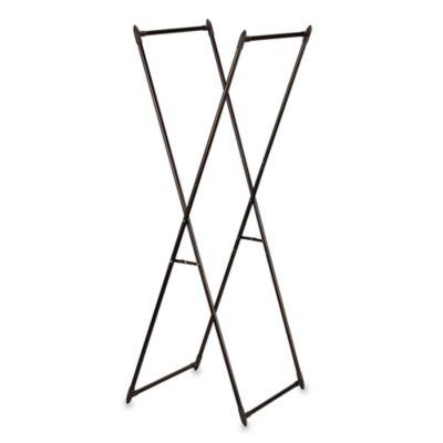 Household Essentials™ Antique Bronze Valet/Portable Garment Rack