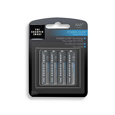 Sharper Image® 4-Pack AAA Alkaline Batteries