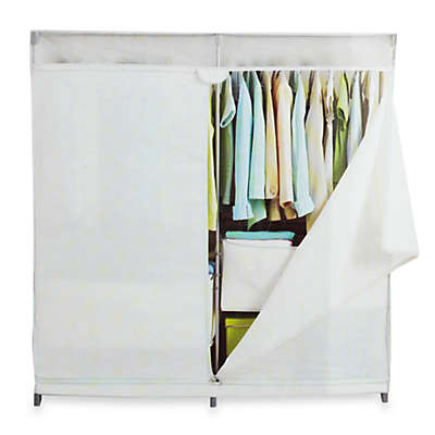 Real Simple® 60-Inch Wide Canvas Closet