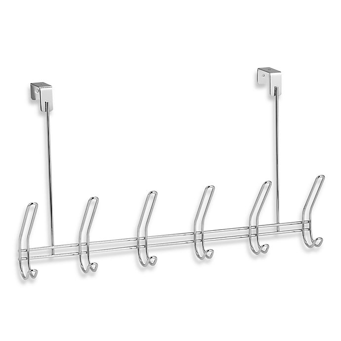 Alternate image 1 for Over-the-Door Hook Rack