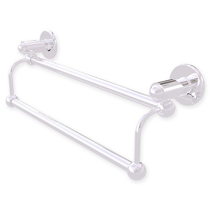 Alternate image 1 for Allied Brass Soho 18-Inch Double Towel Bar in Polished Chrome