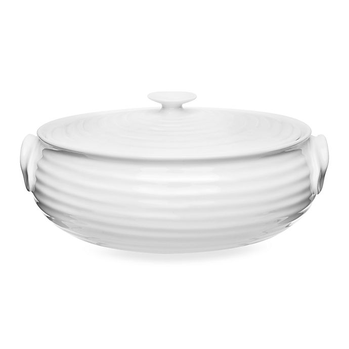 Alternate image 1 for Sophie Conran for Portmeirion®  Small Oval Covered Casserole in White